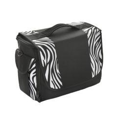 Crewe Black Zebra Holdall Student Bag