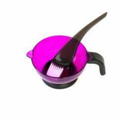 Crewe Purple Tint Bowl And Brush