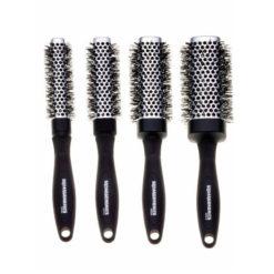 Denman Squargonomic Silver Four Brush Set