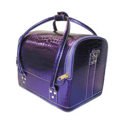 Hair Tools Metalic Purple Hairdressing Styling Case