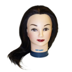 Hair Tools Training Head with Long Hair (22-24' Approx)
