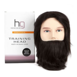 Head Gear Gents Training Head With Beard