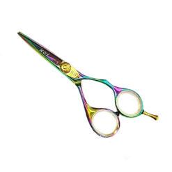 KOI Rainbow Titanium 5 Inch Hairdressing Scissors