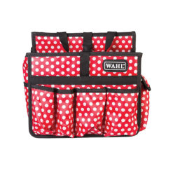 Wahl Student Red Polka Dot Tool Carry
