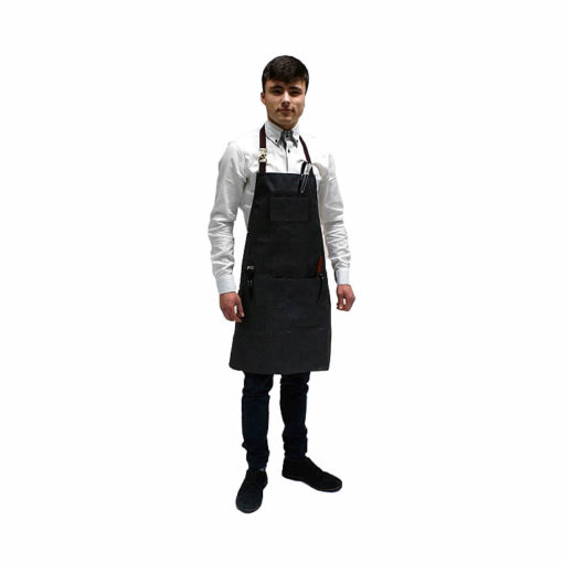 Hair Tools Barbers Charcoal Apron