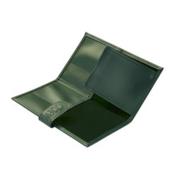 JOEWELL Green Leather Scissor Case