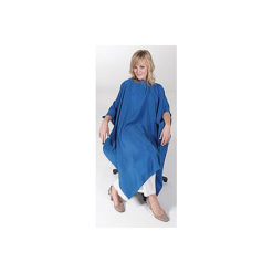 Sibel Flexi Fiber Blue Salon Cape