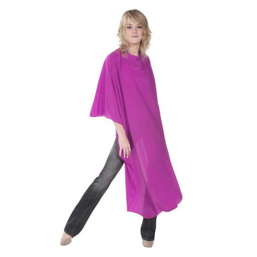 Sibel Flexi Fiber Magenta Pink Salon Cape