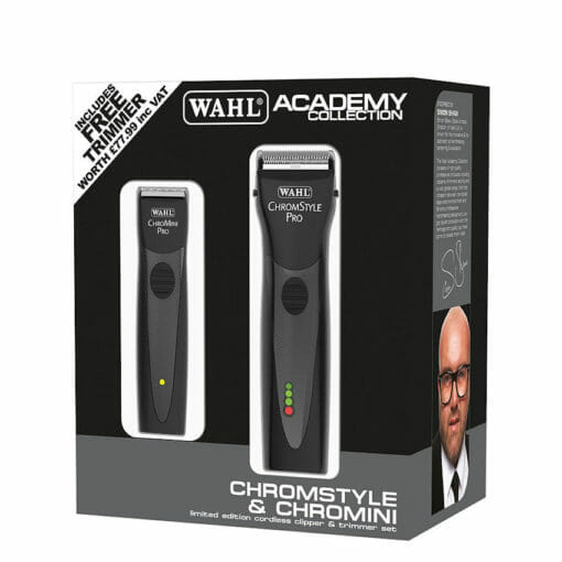 Wahl Academy Chromstyle Clipper and Chromini Trimmer Kit