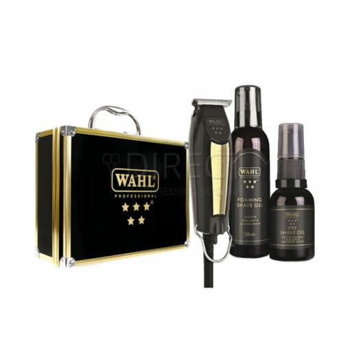 Wahl Limited Edition Black & Gold Detailer T-Blade Trimmer