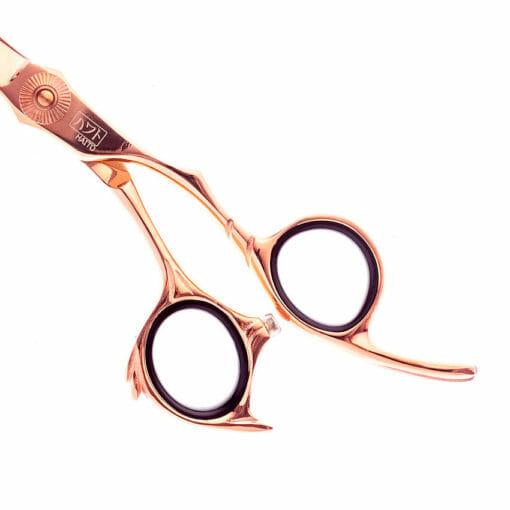 Haito Rozu Offset Hairdressing Scissor And Thinning Set