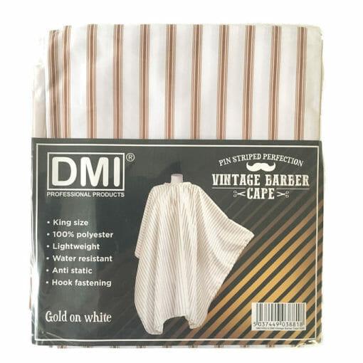DMi Vintage Gold Barber Cape