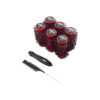 Kodo Lock and Roll Blow Drying Red Brush Set