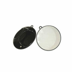 Hair Tools Round Mirror With Bracket