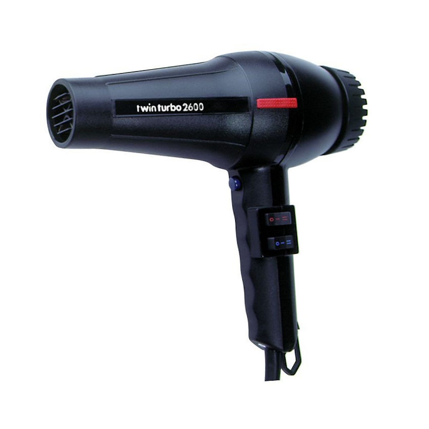 Parlux Twin Turbo 2600 Black Hairdryer