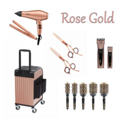 Rose Gold Essentials Hairdressing Kit