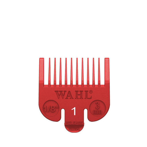 Wahl Attachment Coloured Clipper Combs