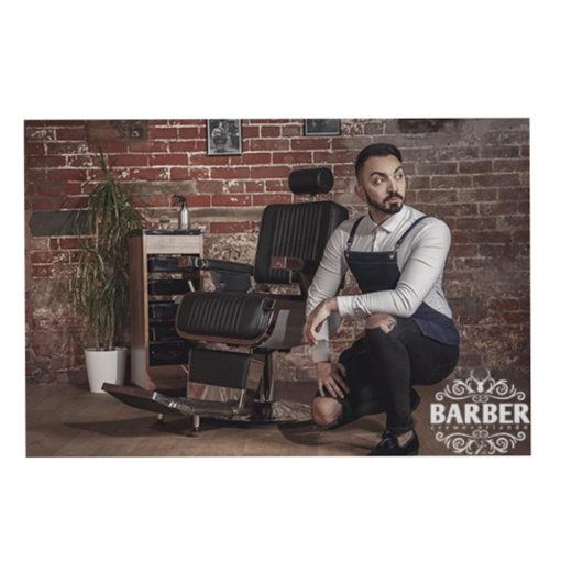Crewe Barber Blue Denim Apron