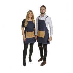 Crewe Barber Blue Denim Apron