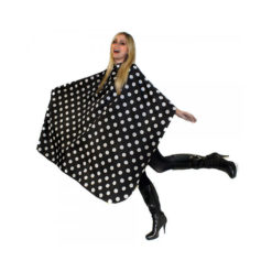 Hair Tools Polka Dot Hairdressing Gown