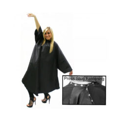 Hair Tools Sleeved Black Hairdressing Gown