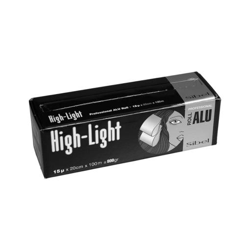 Sibel Silver Wide Premium Foil 100mtr