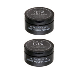 American Crew Heavy Hold Pomade Twin Pack