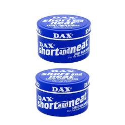 Dax Wax Short & Neat 99gm Twin Pack