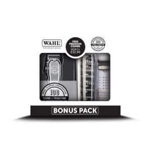Wahl 100th Year Anniversary Cordless Clipper Special Pack