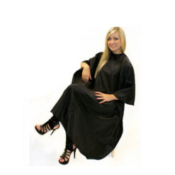 Hair Tools Unisex Black Hairdressing Gown