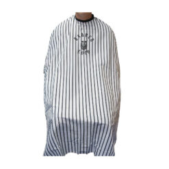 Barber Loco White Pinstripe Cape