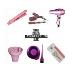 The Pink Student Hairdressing Kit