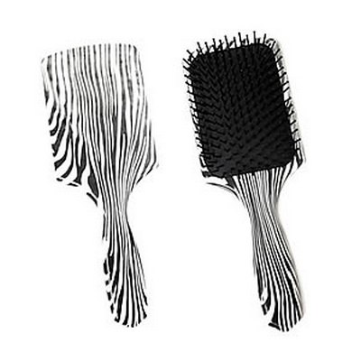 Crewe Orlando Zebra Large Paddle Brush