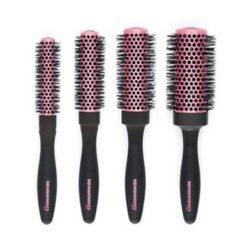 Deman Squargonomic Pink Four Brush Set