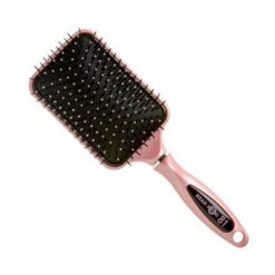 Head Jog Pink Paddle Brush