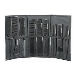 DMi Carboflex 9 Piece Carbon Comb Set