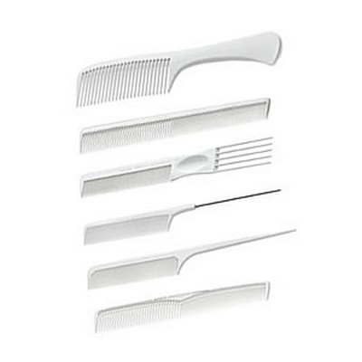 Acca Kappa Student White Carbon Comb Set