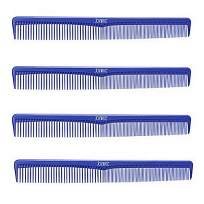 JOEWELL Hairdressing Combs Pack 4