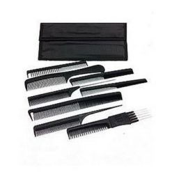 TRi Carbon 8 Hairdressing Comb Set