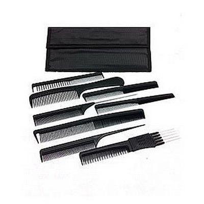 TRi Carbon 8 Hairdressing Comb Set