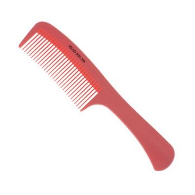 Head Jog Pink 206 Detangling Rake Comb