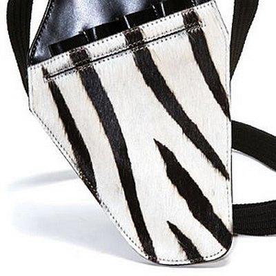 PASSION Zebra Gun Holster Scissor Case