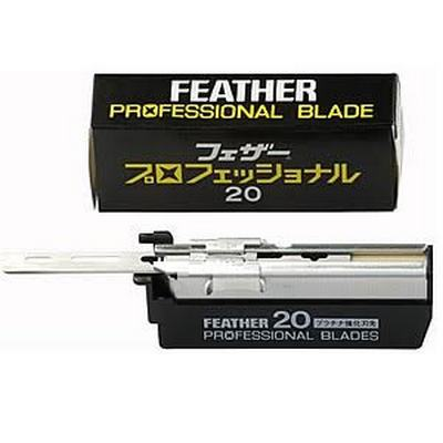 FEATHER Professional Blades Pack 20